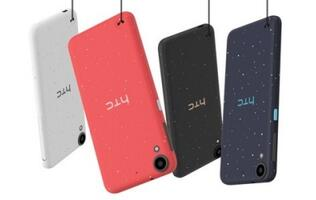 HTC's new Desire smartphones have splashes of paint on their backs