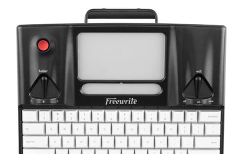 Indulge your inner hipster with the Astrohaus Freewrite smart typewriter