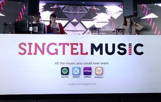With the new Singtel Music, you can now stream to your heart's content!