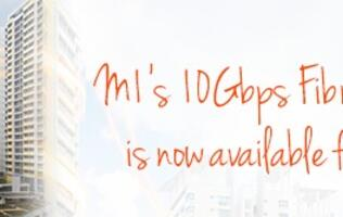 Now you can sign-up for M1's 10Gbps fiber broadband plan for your home