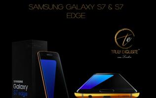 You can pre-order the Galaxy S7/S7 edge in 24K gold, platinum or 18K rose gold