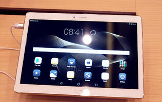 Huawei's MediaPad M2 10.0 tablet has four Harman Kardon surround sound speakers