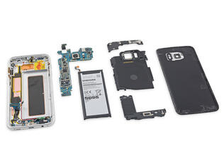 See what's inside the Samsung Galaxy S7 Edge