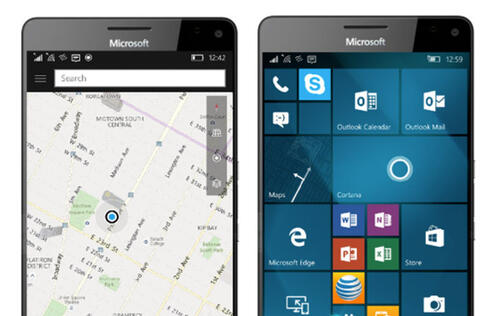 Here to pull its maps and navigation apps for Windows Phone