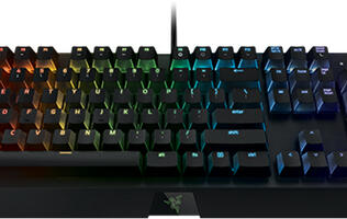 Razer's new BlackWidow X mechanical keyboards go minimalistic