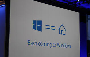 Microsoft is bringing Bash to Windows
