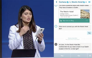 The next generation of Skype has Cortana, and it can talk to other bots
