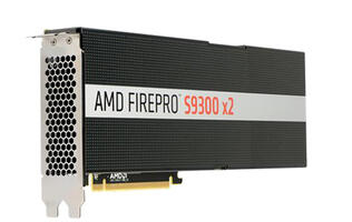 AMD announces the FirePro S9300 X2, a dual Fiji card for enterprises