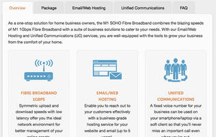 M1's 1Gbps SOHO Fiber Broadband plan bundles business solutions to attract home-based entrepreneurs