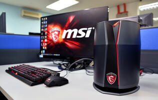 First looks: The MSI Vortex is one small and very powerful machine