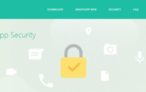WhatsApp begins end-to-end encryption for its services