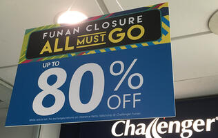 In pictures: Deals that caught our eye at the Challenger Funan closure sale