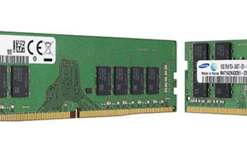 Samsung starts mass production of 10nm 8Gb DDR4 DRAM chips
