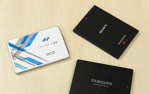 Entry-level SSD Showdown: OCZ Trion 150 vs. Samsung SSD 750 Evo vs. Sony SLW-M