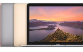 New MacBooks have faster processors, longer battery life and a rose gold finish