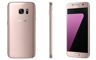 Samsung unveils pink gold Galaxy S7 and S7 edge