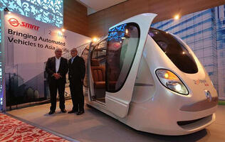 SMRT aims to bring driverless pods to Singapore