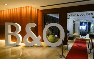 Photos: Bang & Olufsen's refreshed Grand Hyatt showroom