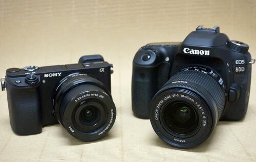 Canon EOS 80D vs. Sony A6300: A quick measure of imaging performance