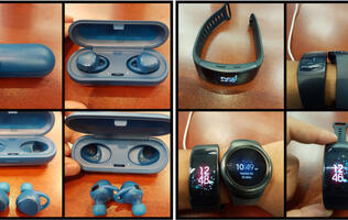 Samsung Gear Fit 2 and Gear IconX wireless ear buds leaked