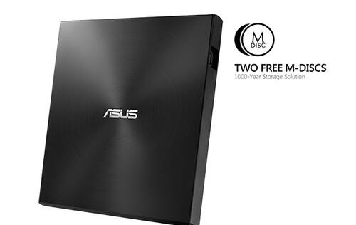 Write DVDs that'll last 1000 years with ASUS' new ZenDrive U7M external DVD writer