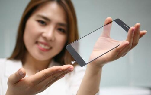 LG's new fingerprint sensor is embedded in the display of the phone