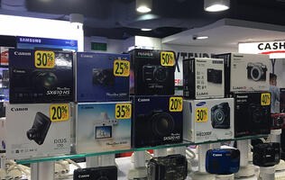 In pictures: Camera deals at Harvey Norman Funan's Demolition Clearance