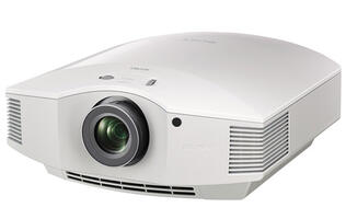The new Sony VPL-HW45ES is a full HD SXRD home cinema projector with a lamp life of 6,000 hours