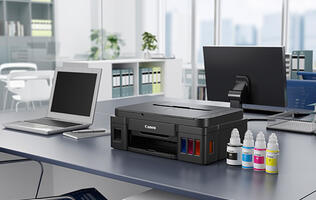 Canon PIXMA G series - High-volume printing without breaking the bank