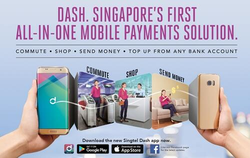 Singtel updates Dash to enhance the way you commute, shop, and remit money!