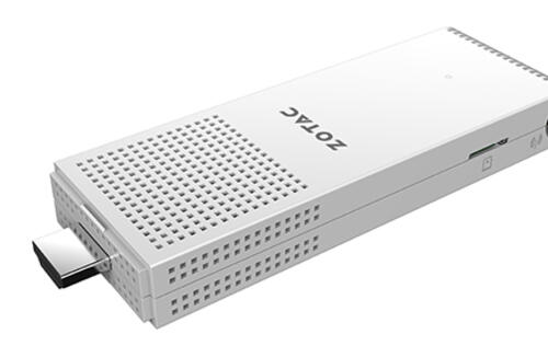 The new Zotac ZBOX PI220 and PI221 stick PCs both come with a full-sized Ethernet port