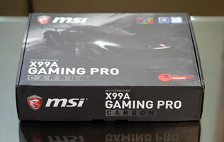 Preview: The MSI X99A Gaming Pro Carbon is decked out in sexy carbon fiber and RGB lights