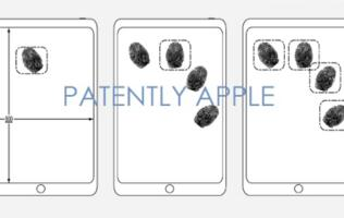 Apple granted a third patent for embedded Touch ID sensor in the display