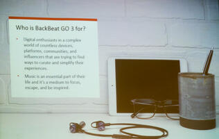 First looks: Plantronics BackBeat Go 3 wireless in-ear headphones