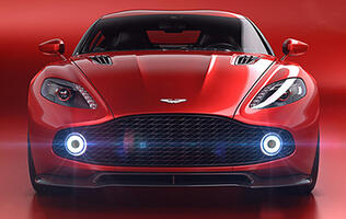 The Aston Martin Vanquish Zagato Concept could well be the prettiest car of 2016