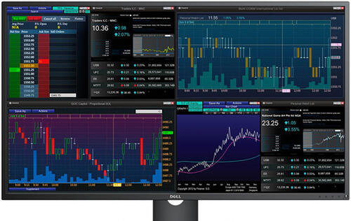 Dell's new 43-inch 4K multi-system monitor can display up to four separate 1080p screens