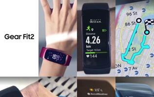 Leaked images of Samsung's Gear Fit 2 appear online