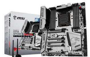 MSI's new Intel X99 and Z170 Titanium motherboards were built to turn heads