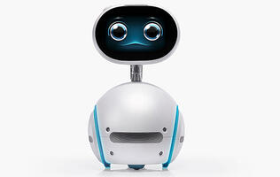 ASUS' Zenbo is a cute rolling robot that dances and reads to your kids