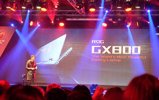 The ASUS ROG GX800 might just be the world's most insane gaming laptop