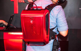 MSI showcases new backpack PC for VR gamers