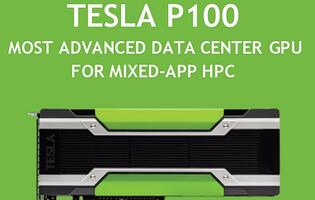 NVIDIA announces Tesla P100 and touts it as the most advanced GPU for PCIe-based servers