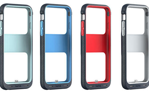 SanDisk has an iPhone case with 128GB of built-in flash storage