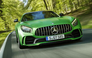 Mercedes debuts bonkers mad 577hp AMG GT R at the Goodwood Festival of Speed