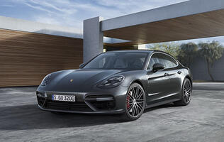 The new Porsche Panamera is finally cool, thanks to wings that split and extend