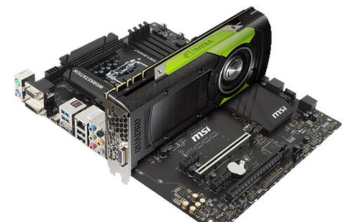 MSI X99A Workstation motherboard gets NVIDIA Quadro SLI certification
