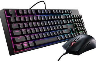 Cooler Master's MasterKeys Lite L Combo packs an RGB splash-resistant keyboard and mouse