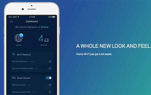 Linksys updates its Smart Wi-Fi app with new interface and features