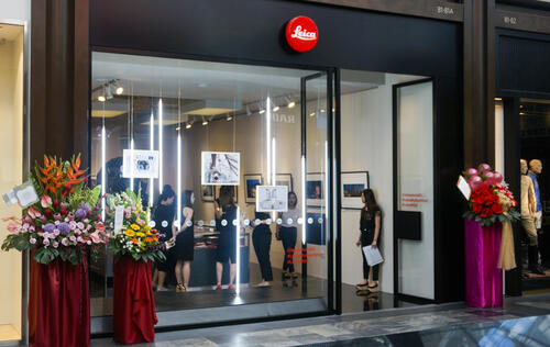 Leica arrives at The Shoppes at Marina Bay Sands