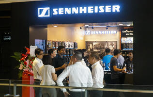 In pictures: Sennheiser's first brand store in Singapore